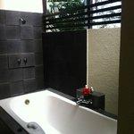 Alfresco bathroom!
