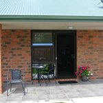 Our patio at Invercargill