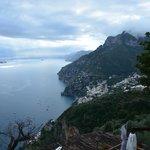 View from Fattoria La Tagliata of the Amalfi Coast