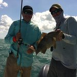 Perfect fishing day with Captain Andrew Tipler