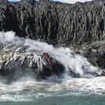 Remaining lava