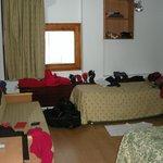 desorden en la habitaicón