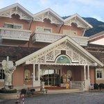 L'entrata dell'hotel