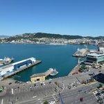 Deluxe King Harbour View Room - looking over Queen's Wharf