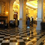 The beautiful grand lobby...