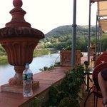 Terrace along Arno River