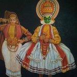 Kathakali dancers picture