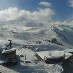 Vu sur le domaine skiable