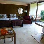 Rummet med balkong