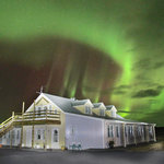 Hotel Lækur(laekur) is a magnificent place to see the northern lights