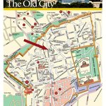 THE OLD CITY MAP