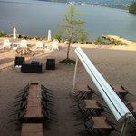 La terrasse en période estivale