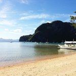 Beach vom Resort