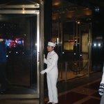 Front door attendant