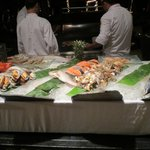 Seafood buffet - foodie heaven