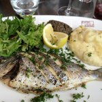 Whole Roasted Sea Bass with Tapenade
