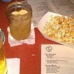 drinks & popcorn