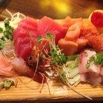 Sashimi Dinner!  2die4!!! thnx Mike!!