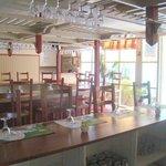 Salle de restaurant et petit déjeuner