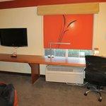 """Desk area-Has that """"Star Trek"""" look"""