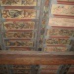 il soffitto della stanza