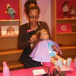 Doll salon will fix your dolls' hair and educate you on how to care for your d