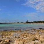 la spiaggia vista dal Palace