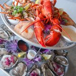 The Medium Seafood Tower at Pier 424 Seafood Market