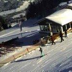 Skihütte in der Steibis- SkiArena