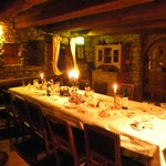 the cellar - dinner served there at night