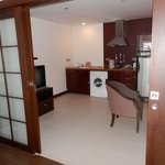 Kitchenette/living