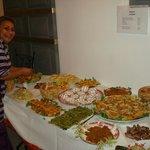 Un des buffet