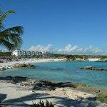 La plage, décevante même pour Riviera Maya