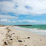 Beach, 15 min walk