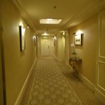 the hallway again