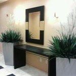 Decor by the elevators