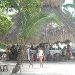 Bar a samana sur la plage