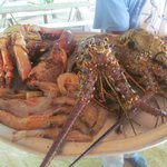 Fruits de mer a Samana