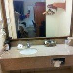 Clean Vanity area