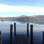 Derwentwater from the jetty at Dandelion Cafe