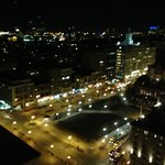 Night view of Boston (Copley Square)