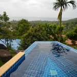 view from room in your own private pool