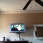 tv view from bed
