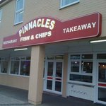 Pinnacles Fish and Chip Restaurant in Seahouses Northumberland