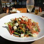Fantastic garden salad (starter) but ate this for lunch nearly every day