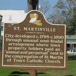 St. Martin de Tours Plaque