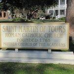 St. Martin plaque