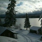 Winter time at the lodge