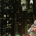 View from the 13th floor of the intercontinental Barclay NYC