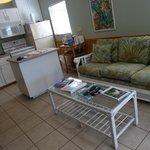 Living room/kitchen cottage #5